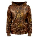 Steampunk In Rusty Metal Women s Pullover Hoodies View1