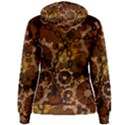 Steampunk In Rusty Metal Women s Pullover Hoodies View2