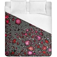 Sci Fi Fantasy Cosmos Red  Duvet Cover Single Side (Double Size) by ImpressiveMoments