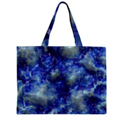 Alien Dna Blue Zipper Tiny Tote Bags by ImpressiveMoments