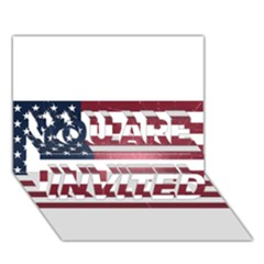 Usa3 YOU ARE INVITED 3D Greeting Card (7x5)  by ILoveAmerica