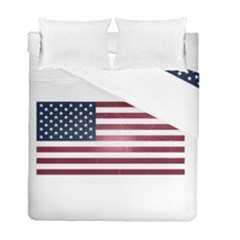 Usa3 Duvet Cover (twin Size) by ILoveAmerica