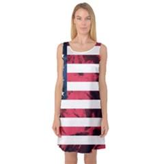 Usa5 Sleeveless Satin Nightdresses
