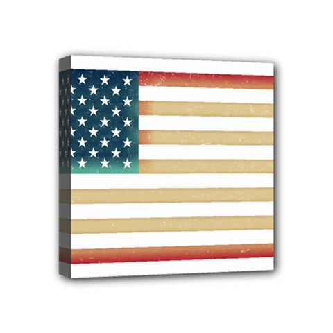 Usa7 Mini Canvas 4  X 4  by ILoveAmerica