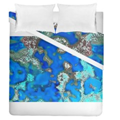 Cocos Reef Sinkholes Duvet Cover (full/queen Size)