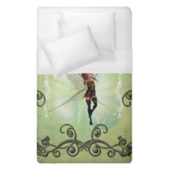 Cute Elf Playing For Christmas Duvet Cover Single Side (single Size)