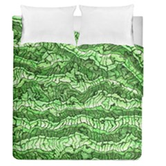 Alien Skin Green Duvet Cover (full/queen Size) by ImpressiveMoments
