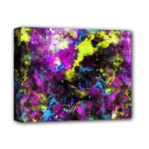 Colour Splash G264 Deluxe Canvas 14  X 11  by MedusArt