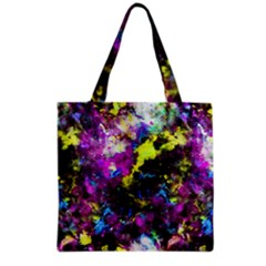 Colour Splash G264 Grocery Tote Bags by MedusArt