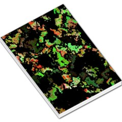 Splatter Red Green Large Memo Pads