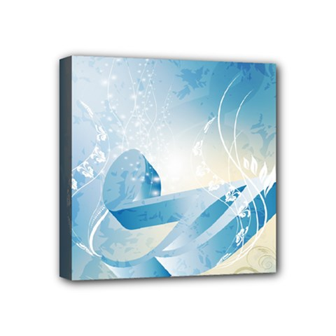 Music Mini Canvas 4  X 4  by FantasyWorld7