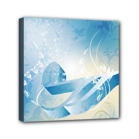 Music Mini Canvas 6  x 6  by FantasyWorld7