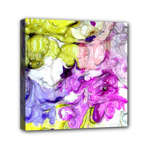 Strange Abstract 2 Soft Mini Canvas 6  X 6  by MoreColorsinLife