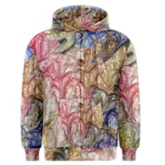 Strange Abstract 6 Men s Zipper Hoodies by MoreColorsinLife