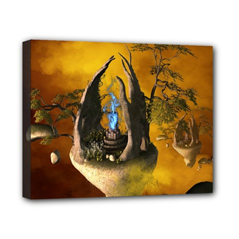 The Forgotten World In The Sky Canvas 10  X 8  by FantasyWorld7