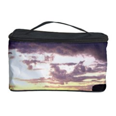 Sunset Over The Valley Cosmetic Storage Cases by canvasngiftshop