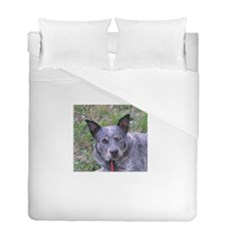 Australian Cattle Dog Blue Duvet Cover (Twin Size) by TailWags