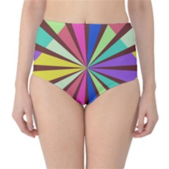 High-Waist Bikini Bottoms by LalyLauraFLM