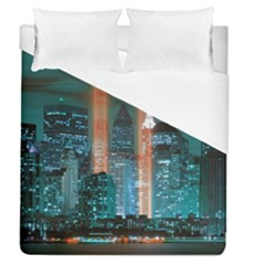 New York 2014 1206 Duvet Cover Single Side (full/queen Size)