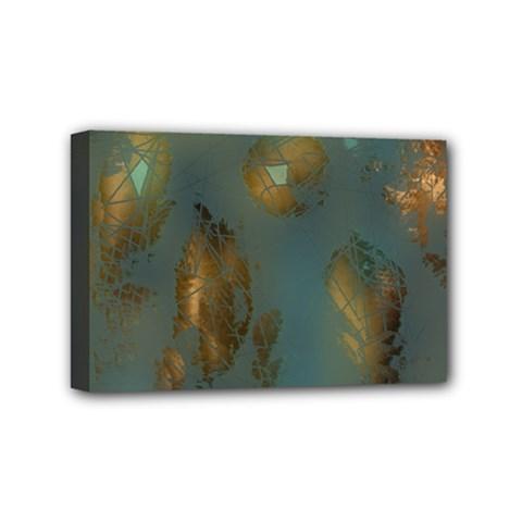 Broken Pieces Mini Canvas 6  X 4  by theunrulyartist