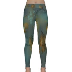 Broken Pieces Yoga Leggings by theunrulyartist