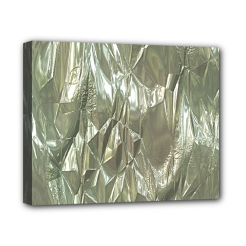 Crumpled Foil Canvas 10  X 8