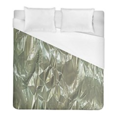 Crumpled Foil Duvet Cover Single Side (twin Size) by MoreColorsinLife