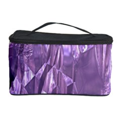 Crumpled Foil Lilac Cosmetic Storage Cases by MoreColorsinLife