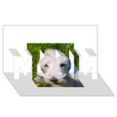 Bedlington Terrier MOM 3D Greeting Card (8x4)  by TailWags