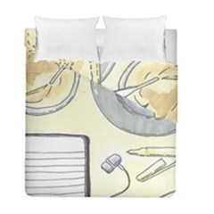 Tearespite Duvet Cover (twin Size) by northerngardens