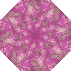 Unique Marbled Pink Straight Umbrellas by MoreColorsinLife