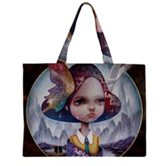 World Peace Zipper Tiny Tote Bags by YOSUKE