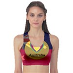 I Love Australia - Crop - Sports Bra