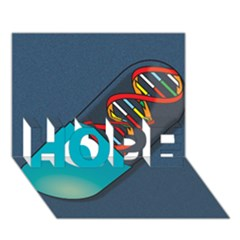 Dna Capsule Hope 3d Greeting Card (7x5)  by theimagezone
