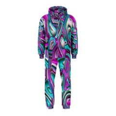 Art Deco Candy Hooded Jumpsuit (kids)