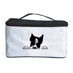 Peeping Boston Terrier Cosmetic Storage Cases by TailWags