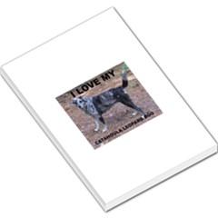 Catahoula Love With Picture Large Memo Pads by TailWags