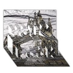 Metal Art London Tower Bridge You Rock 3d Greeting Card (7x5)