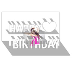 4239411344 56270cf808794 Articlex Happy Birthday 3d Greeting Card (8x4)