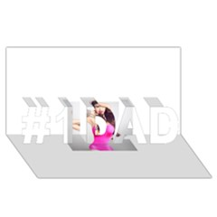 4239411344 56270cf808794 Articlex #1 Dad 3d Greeting Card (8x4)