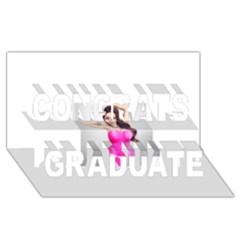4239411344 56270cf808794 Articlex Congrats Graduate 3d Greeting Card (8x4)