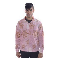 Winter Bokeh Pink Wind Breaker (men)