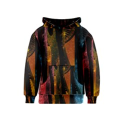 Colorful Space Needle Kid s Pullover Hoodies by stineshop