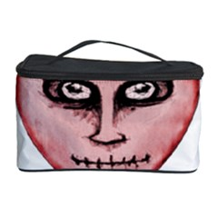 Angry Devil Heart Drawing Print Cosmetic Storage Cases by dflcprints