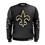 Saints Black Sweat Shirt - Men s Sweatshirt