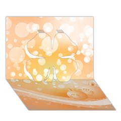 Wonderful Christmas Design With Sparkles And Christmas Balls Clover 3d Greeting Card (7x5)