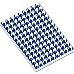 Houndstooth Midnight Large Memo Pads