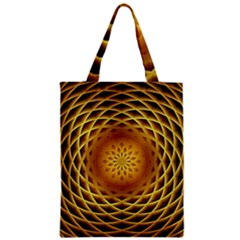 Swirling Dreams, Golden Classic Tote Bags by MoreColorsinLife