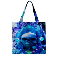 Skull Worship Grocery Tote Bags