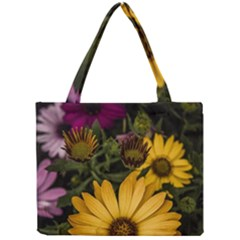 Beautiful Colourful African Daisies  Tiny Tote Bags by OZMedia